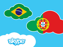 Portuguese language school in Kiev offers to learn the language remotely via Skype.